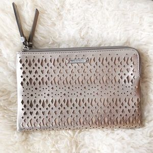 Stella & Dot Rose Gold Double Clutch
